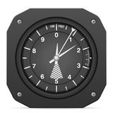 Flight instrument altimeter Royalty Free Stock Photos