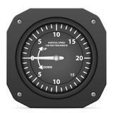 Flight instrument variometer Stock Photography