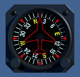 Flight Instruments - 2D - Compass Stock Photos