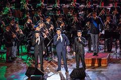 Il Volo, musical trio Royalty Free Stock Photography