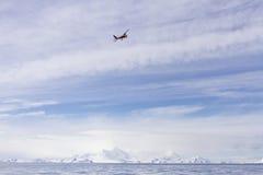 Flight over Antarctica Stock Photos