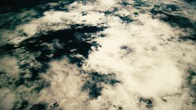 A flight over the earth`s surface, taken from a space station. Elements Of This Video Furnished By Nasa.  stock video footage