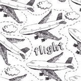 Flight pattern Royalty Free Stock Photos