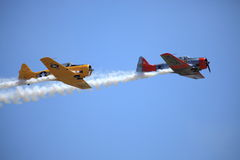 Flight of the Phoenix. Aerial performance at the Barksdale AFB Airshow - 2011 Stock Photos