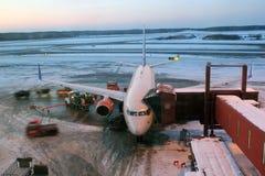 Flight preparation. Royalty Free Stock Images