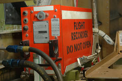 Flight recorder Royalty Free Stock Photo