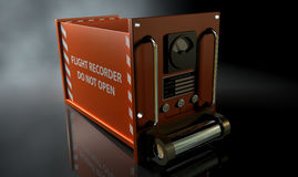 Flight Recorder Stock Photo