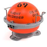 Flight recorder Royalty Free Stock Photos
