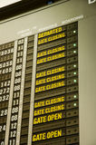 Flight Schedules Stock Images