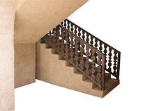 Flight Of Stair Steps. stock photo