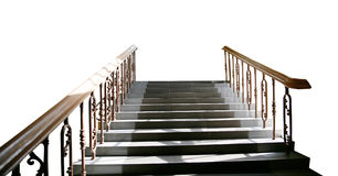Flight of stairs Royalty Free Stock Photos
