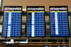 Free Flight Status Screens Royalty Free Stock Photography - 113066147