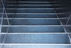 Flight of steps, from above, detail Royalty Free Stock Photography