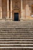 Flight of steps, chatedral of noto Royalty Free Stock Image