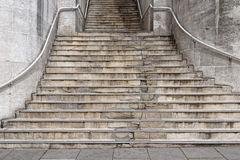 Flight of stone steps Royalty Free Stock Images