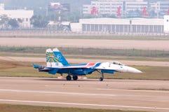 Flight su-27 Stock Photos