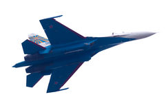 Flight su-27 Royalty Free Stock Image