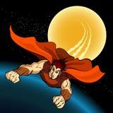 Flight of Superhero Stock Images