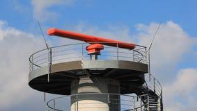 Flight surveillance radar stock video