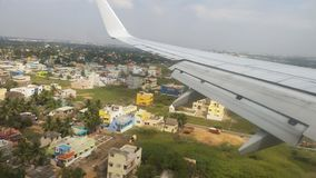 Take off from Chennai india royalty free stock photography