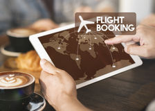 Free Flight Ticket Booking Destination Journey Concept Royalty Free Stock Image - 74311326