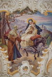 Flight to Egypt Stock Image