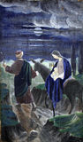 Flight to Egypt Stock Photography