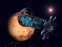 The Flight to Mars Royalty Free Stock Photo