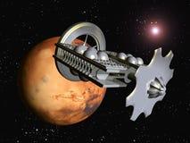 The Flight to Mars Royalty Free Stock Photos