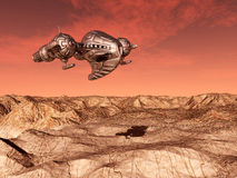 The Flight to Mars Royalty Free Stock Image