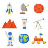 Flight to Mars Royalty Free Stock Image