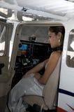 Flight Training Stock Image