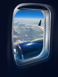 Flight travel Stock Image