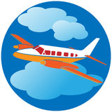Flight travel Royalty Free Stock Image