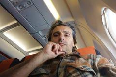 Flight traveler Stock Photography
