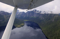 Flightseeing Misty Fjords Royalty Free Stock Photo