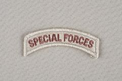 Flik för specialförband för USA-ARMÉ Royaltyfri Foto