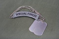 Flik för specialförband för USA-ARMÉ med Royaltyfri Fotografi