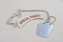 Flik för specialförband för USA-ARMÉ med Royaltyfri Bild