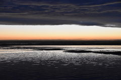 Flikkerend zand Stock Afbeelding