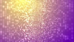 Flikkerende deeltjesregen vector illustratie