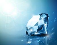 Flikkerende diamantachtergrond Royalty-vrije Stock Foto