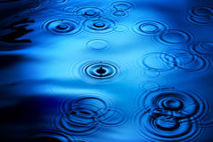 Flikkerende Regen Stock Afbeeldingen