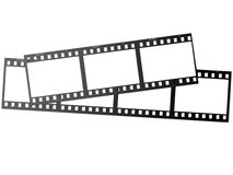 Flim frame. Film frame, perfect to be photo container royalty free illustration
