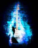 flime guitare Zdjęcie Stock