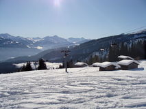 Flims-Laax Region Royalty Free Stock Images