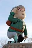 Flin Flon Manitoba maskot Arkivbild