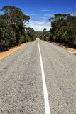 Flinders Chase National Park. Country road in the Flinders Chase National Park on Kangaroo Island, South Australia, Australia Stock Photos