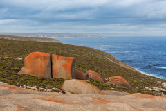 Flinders Chase Nattional Park coastal landscape. Kangaroo Island Royalty Free Stock Photo