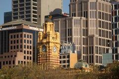 flinders Melbourne stacyjna ulica Zdjęcie Royalty Free